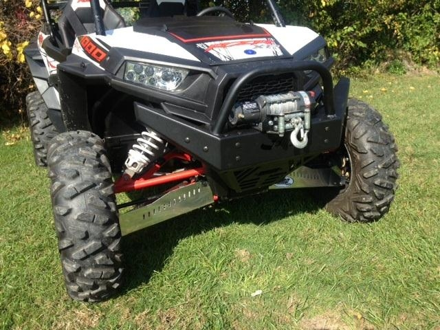 EMP RZR Extreme Front Bumper / Brush Guard with Winch Mount (XP1K and 2015 RZR 900)