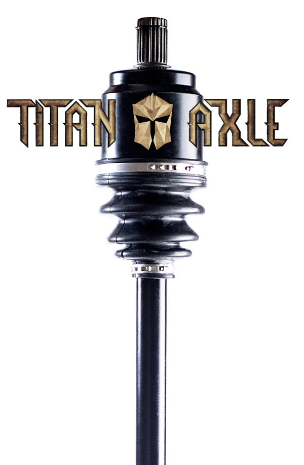 Titan Axle Polaris Sportsman XP Axle