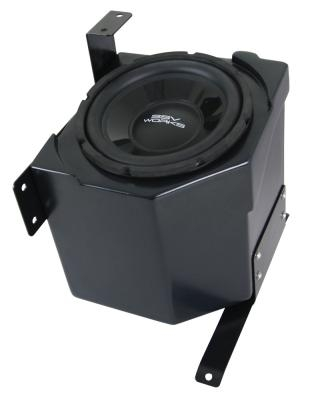SSV Works  WP-PNS10 - Honda Pioneer Under Seat Weather Proof Sub Box with Amplified 10