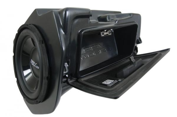 SSV Works RZ4-GB10U   replaces glove box in select 2014-up Polaris RZR models