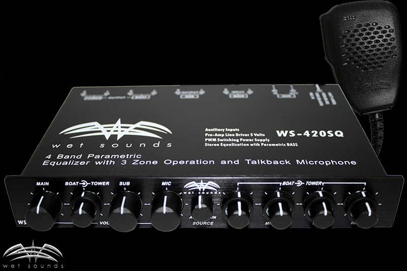 Wet Sounds WS-420SQ Equalizer