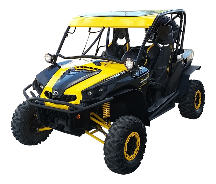 Mudbusters Can-Am Commander Fender Flares