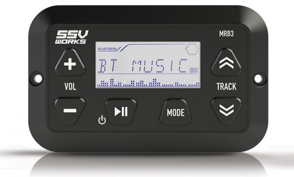 SSV Works Panel Mount Bluetooth Media Controller With LCD Display