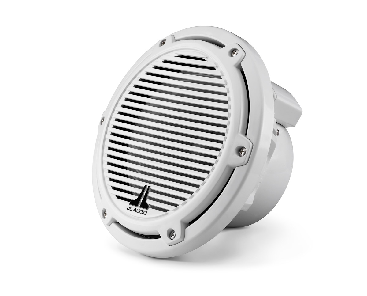 JL Audio M770-TCW-CG-WH: 7.7-inch (196 mm) Tower Component Woofer, White Classic Grille