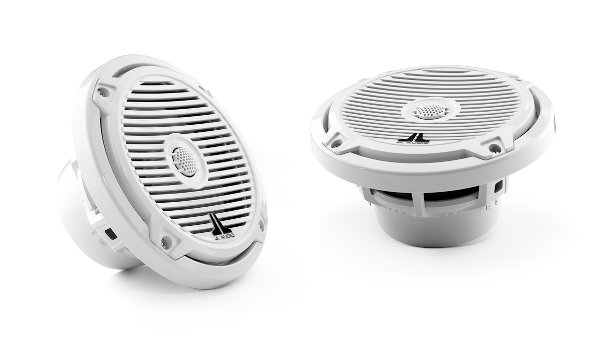 JL Audio MX650-CCX-CG-WH: 6.5-inch (165 mm) Cockpit Coaxial System, White Classic Grilles