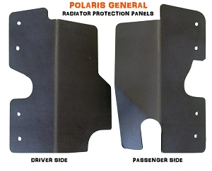 Mudbusters POLARIS GENERAL 1000 RADIATOR PROTECTION PANELS