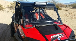 EMP RZR Custom Cage Windshield Kit