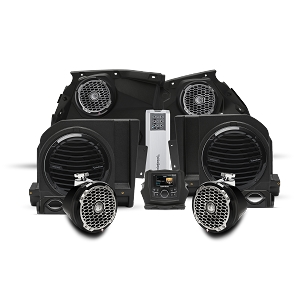 Maverick X3 1000 watt stereo, front speaker, subwoofer, & rear speaker kit for select models