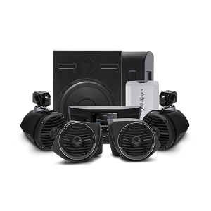 400 Watt Amplified Stereo, Front Lower Speaker, Subwoofer, and Rear Speaker Kit for select YXZ