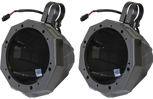 RZ4-F65 POLARIS RZR 2014 AND UP FRONT SPEAKER PODS WITH 120 WATT 6 1/2 SPEAKER (COPY)