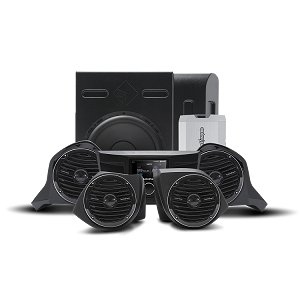 400 Watt Amplified Stereo, Front Upper & Lower Speaker, and Subwoofer Kit for select YXZ models