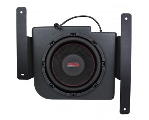SSV Works WP-RG3S10 - POLARIS RANGER RANGER 2015+ AND RANGER XP900 2013+ UNDER SEAT WEATHER PROOF SUB BOX WITH AMPLIFIED 10