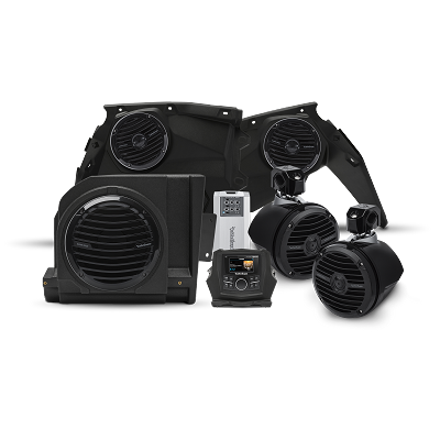Maverick X3 400 watt stereo, front speaker, subwoofer, & rear speaker kit for select models