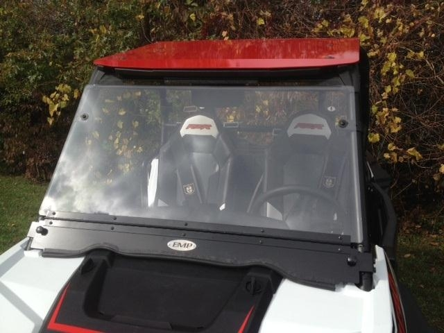 EMP RZR XP1000 (XP1K) and RZR 900 Flip Down Hard Coat Windshield