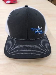 White/Black Bluet Hat