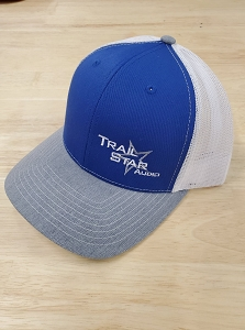 White/Blue Hat