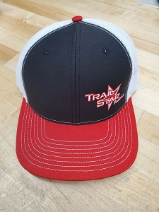 Black and Red Snap back hat