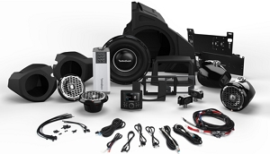 Rockford RZR14-Stage5  1,000 Watt Stereo, Front and Rear Speaker, and Subwoofer Kit for Select Polaris® RZR® Models