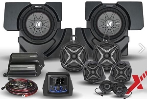 2017+ CanAm X3 Complete Phase X 8-Speaker Plug-and-Play Audio Kit