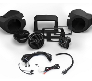 Rockford RZR RZR14-STAGE2  Stereo and Front Speaker Kit for Select Polaris® RZR® Models