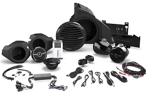 Rockford Ride Command Stage 4  Ride Command® Interface, 400 Watt Stereo, Front and Rear Speaker, and Subwoofer Kit for Select Polaris® RZR® Models