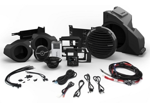 Rockford RZR RZR14-STAGE3  400 Watt Stereo, Front Speaker and Subwoofer Kit for Select Polaris® RZR® Models