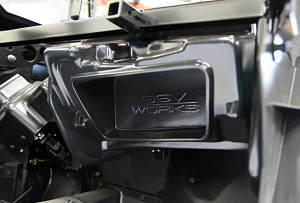 SSV Works POLARIS RZR TURBO S AND XP1000 2019+GLOVE BOX SUB BOX WITH 600 WATT 10