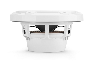 JL Audio 6.5-inch (165 mm) Marine Coaxial Speakers, Gloss White Sport Grilles