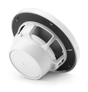 JL Audio  6.5-inch (165 mm) Marine Coaxial Speakers, Gloss White Classic Grilles