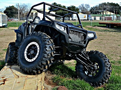 "Polaris RZR XP 900 2"" Forward High Clearance A-Arms"
