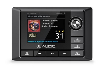 JL Audio MM100s: Weatherproof Source Unit with Full-Color LCD Display